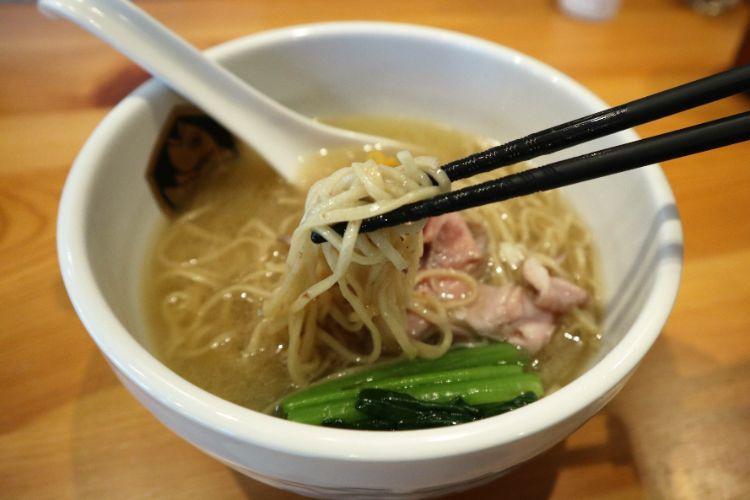 麺魚 真鯛らーめん 麺