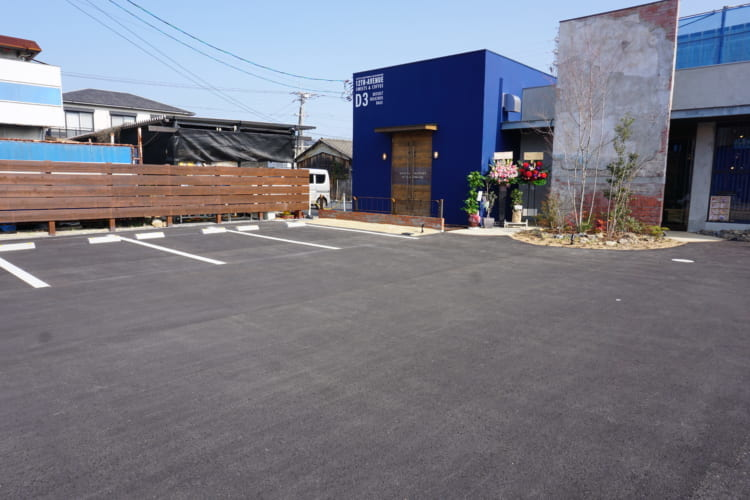 D&3駐車場1