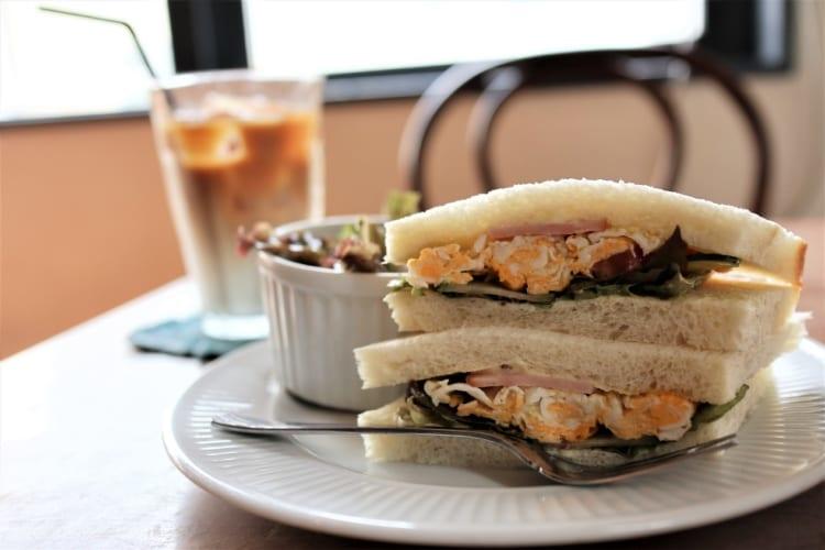 cafebc サンドイッチ1