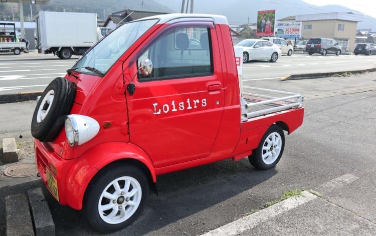 ロワジール 赤い車