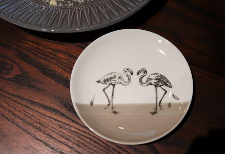 Blue Flamingo お皿