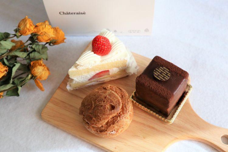 シャトレーゼ ケーキ3種