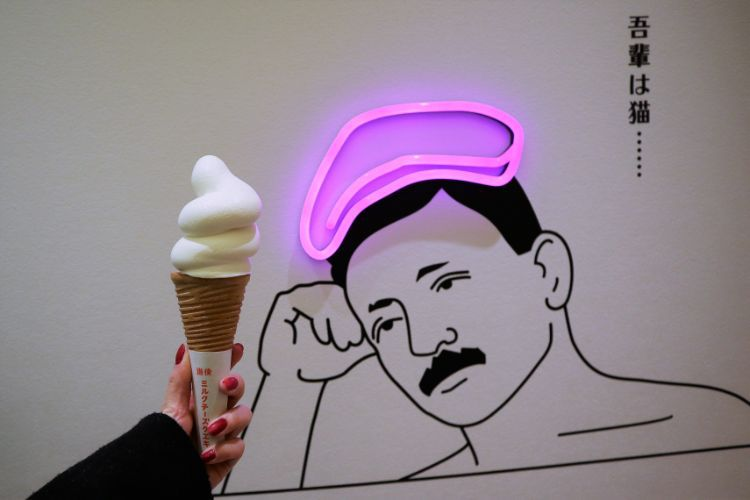 道後ミルク ソフトクリーム1
