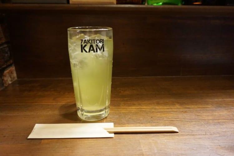 カム 緑茶