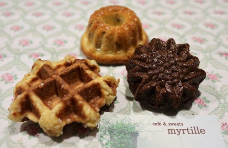 myrtille 焼き菓子