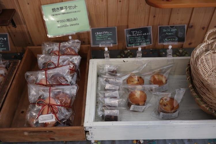 myrtille 焼き菓子3