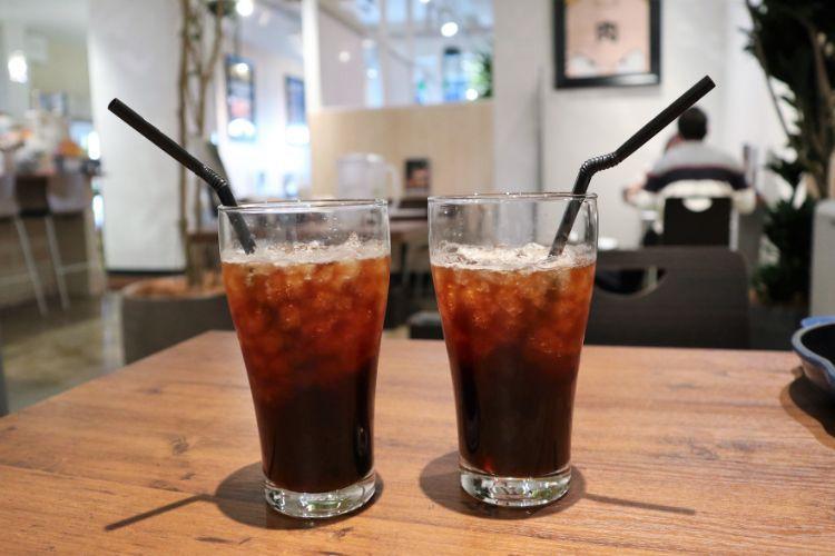 肉銀 アイスコーヒー