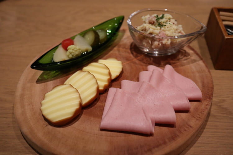 ランゴロ 前菜