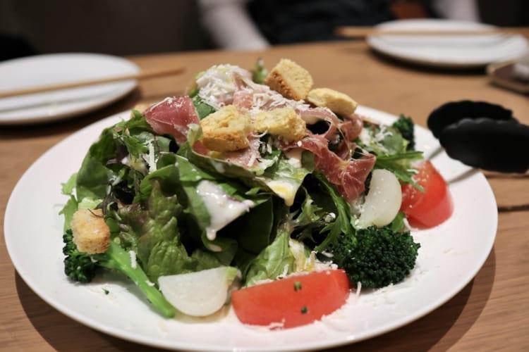 ランゴロ サラダ