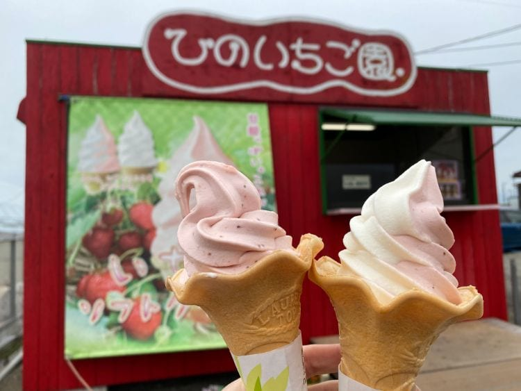 ひの ソフトクリーム2種類