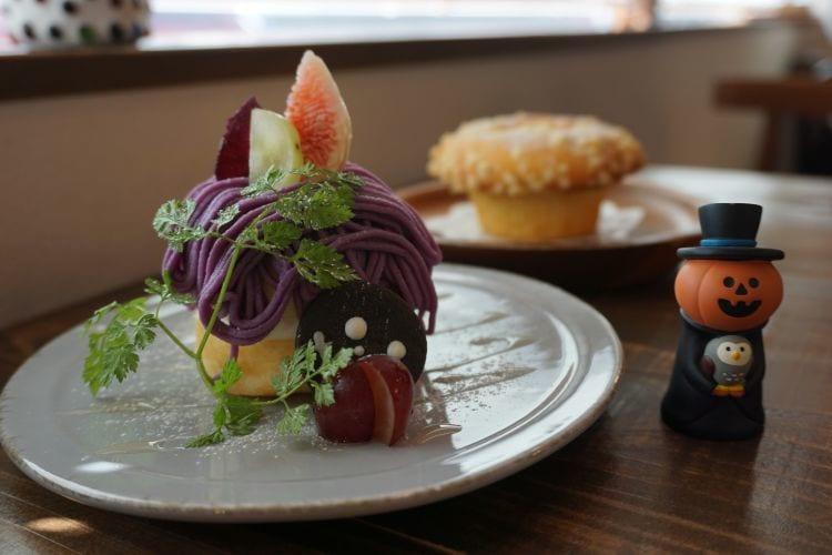 ユニフル 紫芋モンブラン