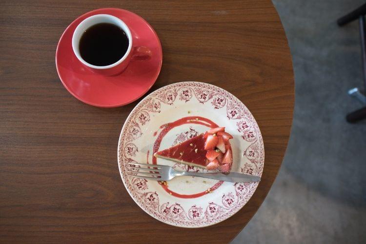 リコ ピスタチオと苺のタルト1