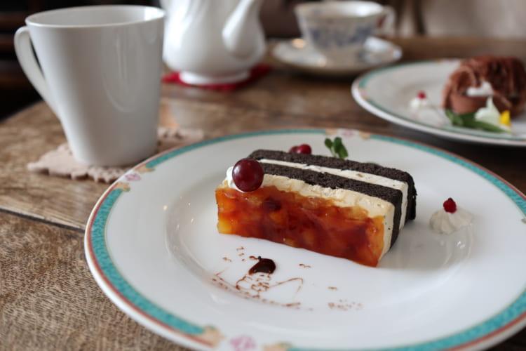 ロイズ りんごとキャラメルのケーキ2