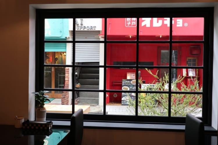 ビルトモア 窓からの眺め