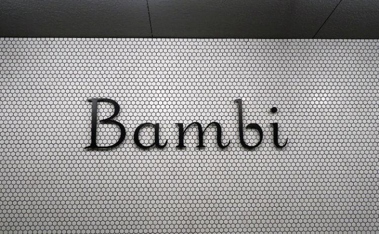 バンビ お店のロゴ
