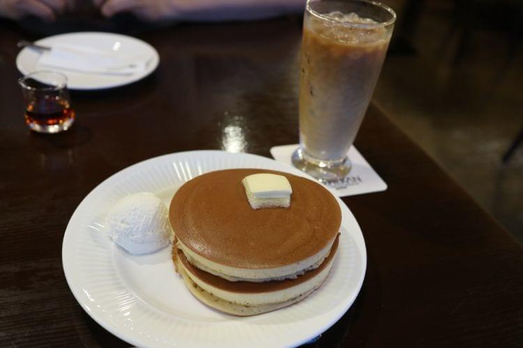 蔵祝谷店 ホットケーキ1