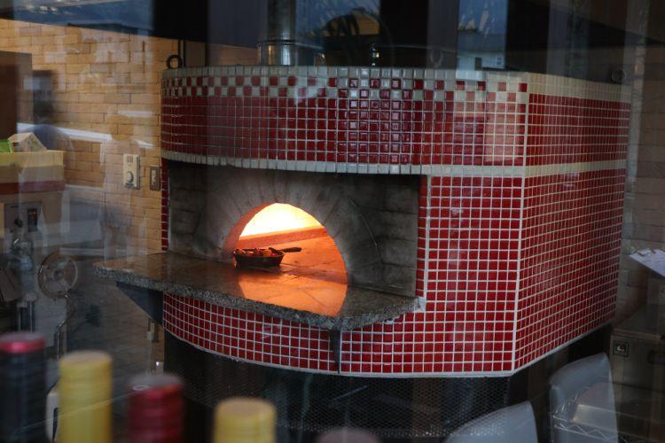 アマルフィー ピザ窯