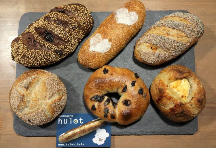 ユロ 購入したパン1