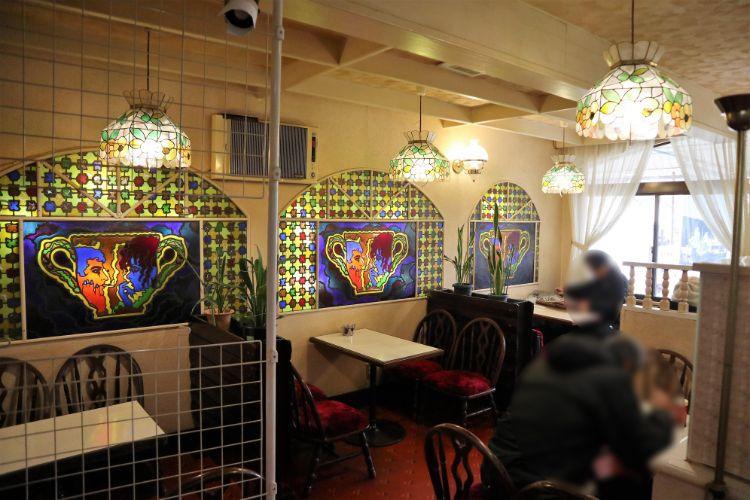 喫茶モンブラン 店内2