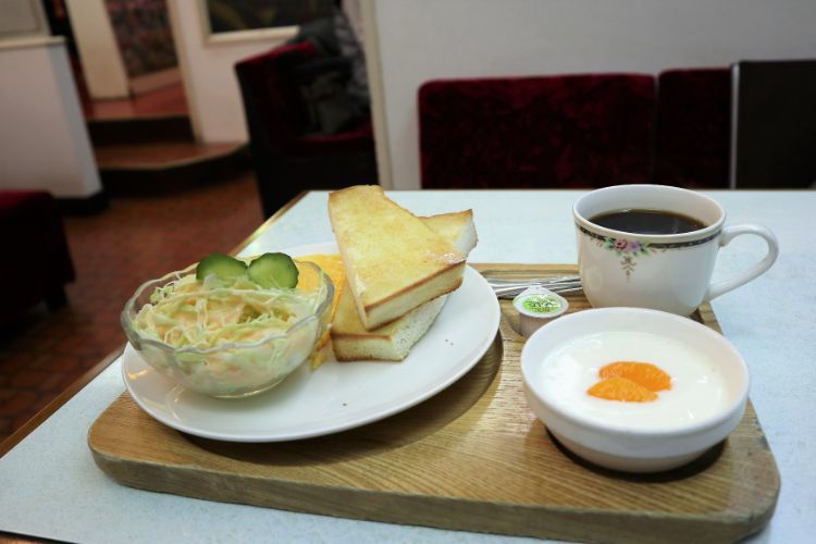 喫茶モンブラン モーニングスペシャル1