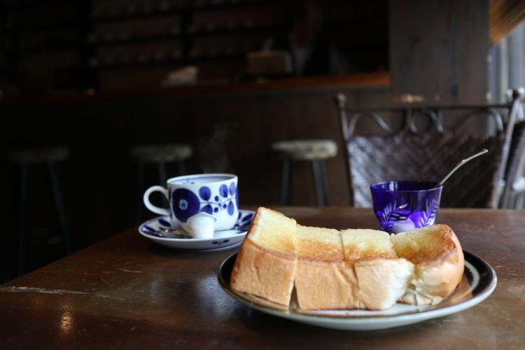 ナガイ コーヒーとトースト