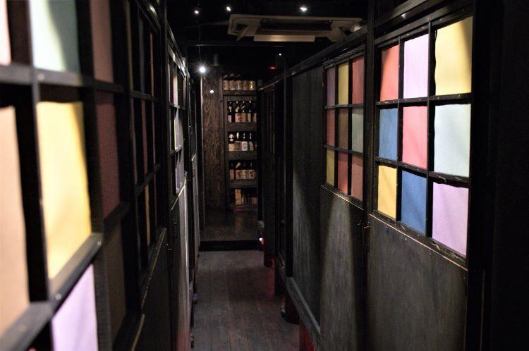 盃 店内廊下