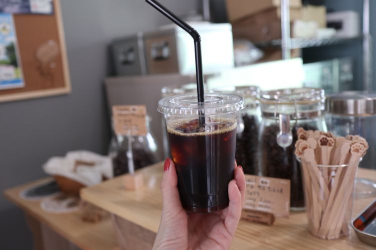コハクコーヒー アイスコーヒー1