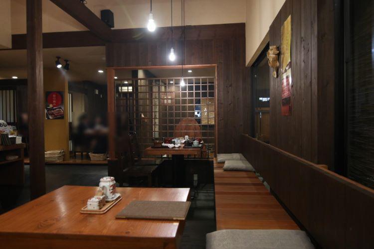 小椋 テーブル席1