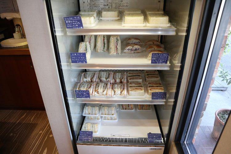 pouce 冷蔵コーナー