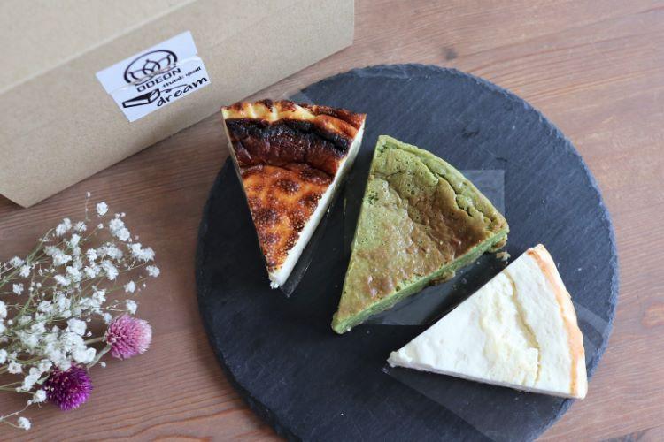 オデヲン 購入したチーズケーキ2