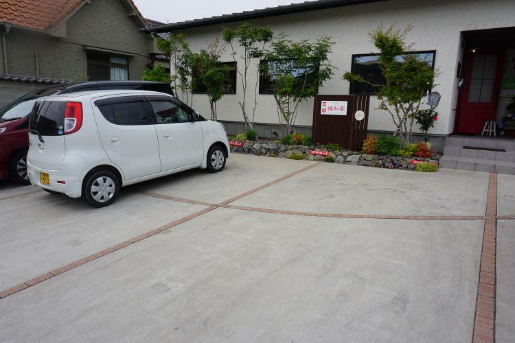 ふくわうち 駐車場1