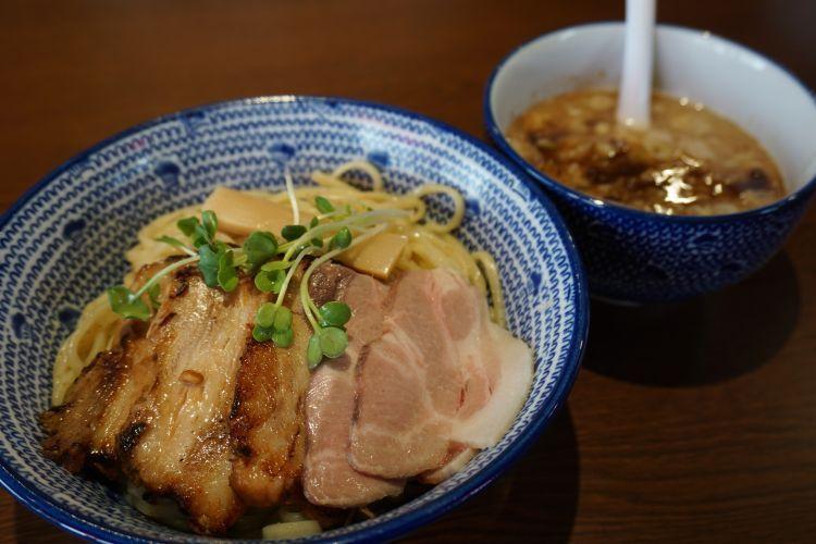 JIN つけ麺チャーシュー2