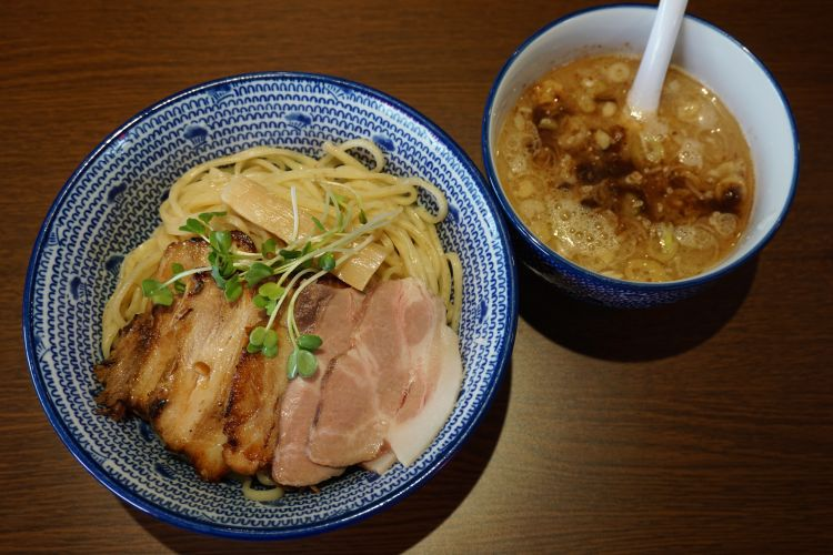 JIN つけ麺チャーシュー1