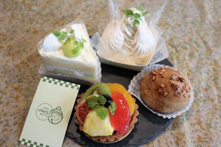 べる ケーキ4種