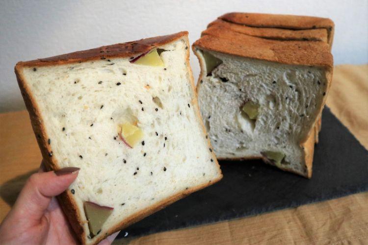 食パン ごまおさつ1