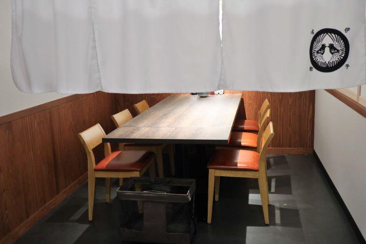 伊予万里 店内座席2