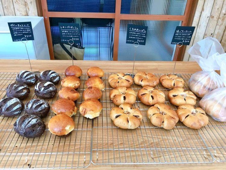 森とパン 販売しているパン1