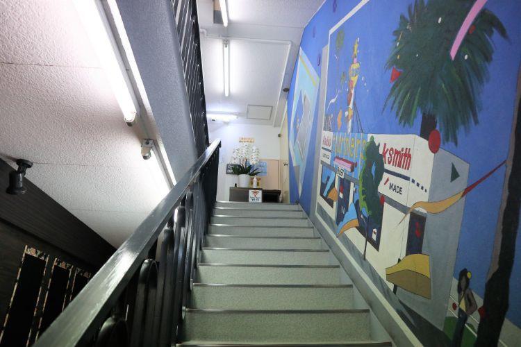 大街道珈琲 階段