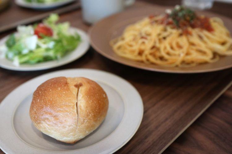 ポメロ パスタセットのパン