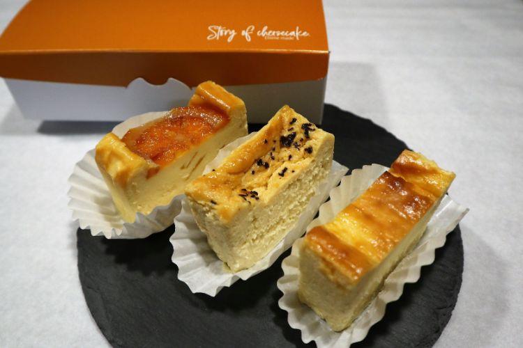 ストーリーオブチーズケーキ チーズケーキ3種