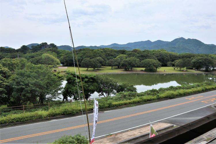 ゆらり内海 無料休憩所からの眺め
