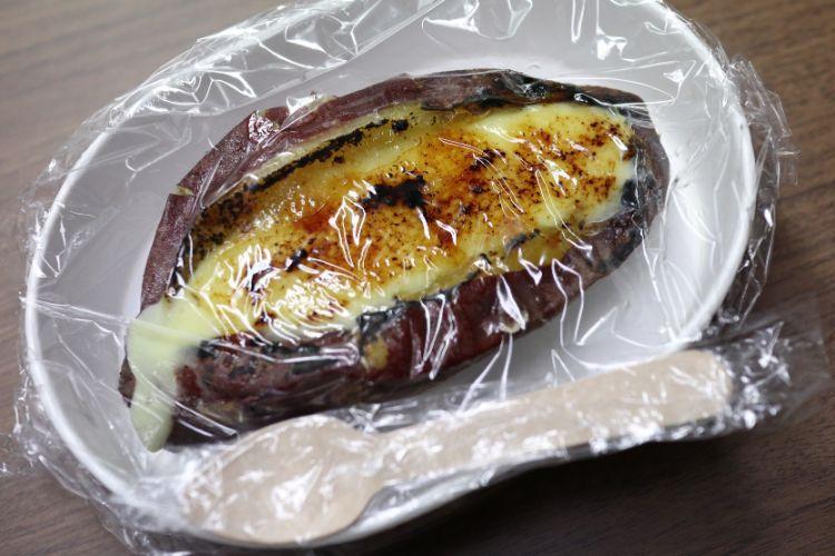 芋ぴっぴ 焼き芋ブリュレ2