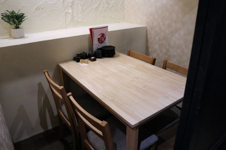 花道 テーブル席
