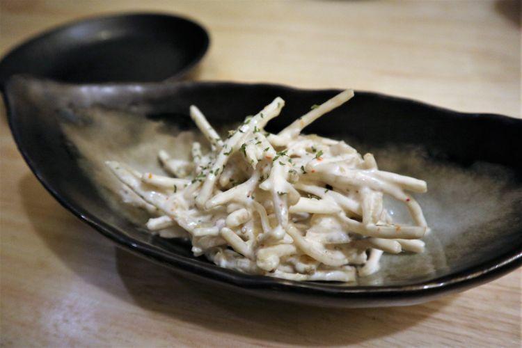 花道 ごぼうサラダ