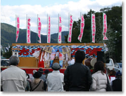 愛媛県秋祭り2016大洲市