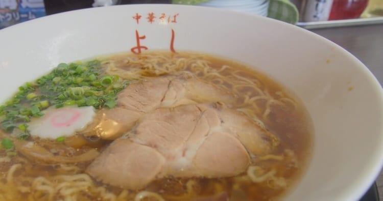 中華そばよし魚介ラーメン1
