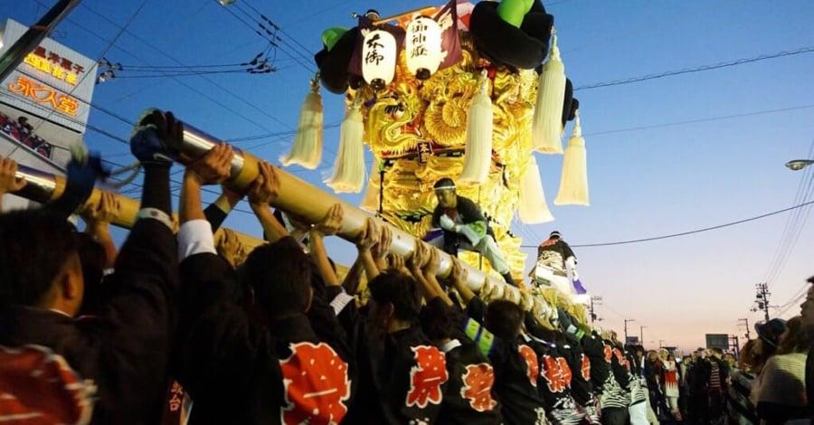 愛媛県秋祭り2016新居浜市2