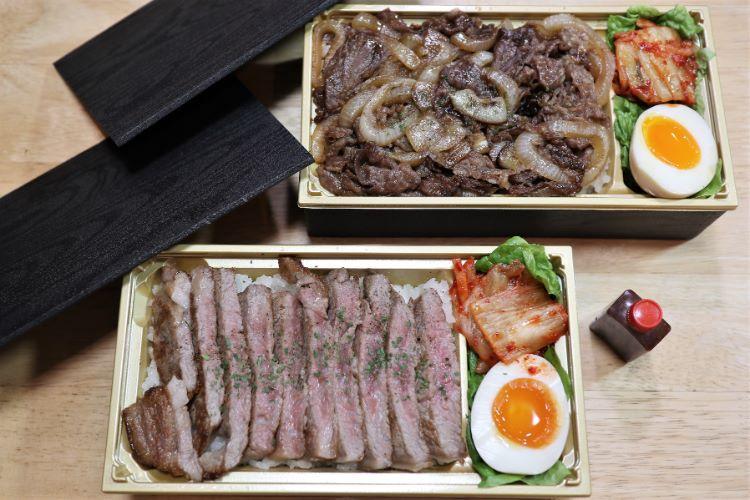 山おか サーロインステーキ・セレブの牛丼