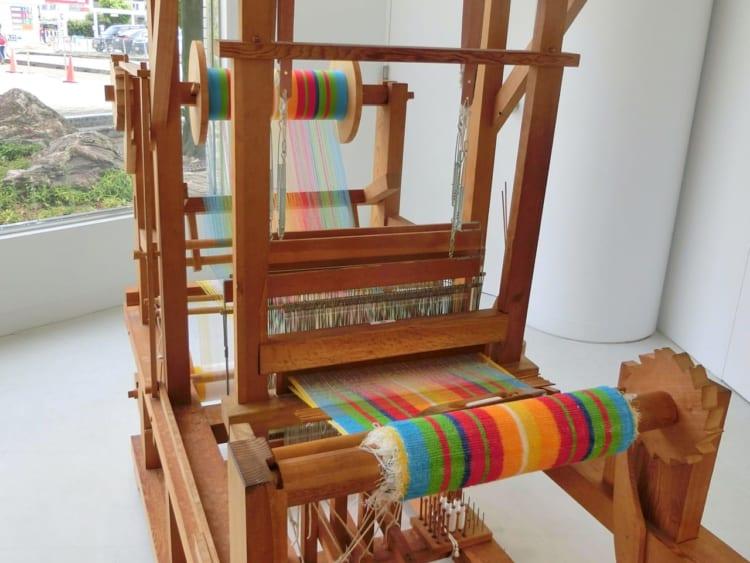 今治タオルLAB 手織り織機