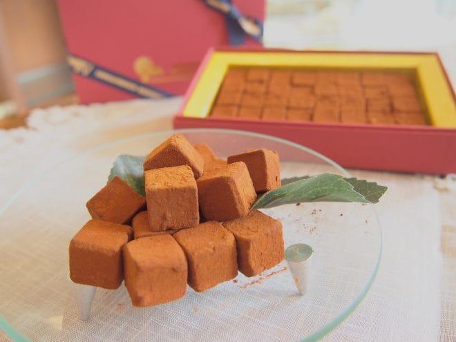 スイス菓子アルム-アルムの石畳